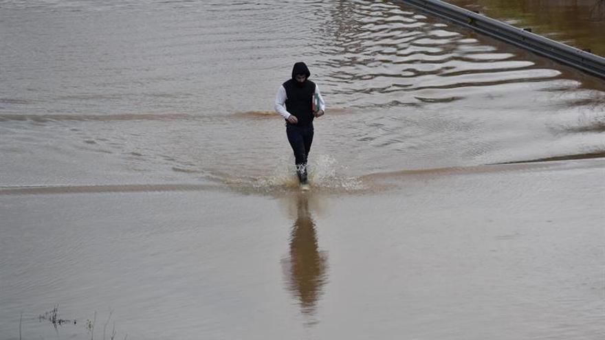 El temporal cede pero 10 provincias tienen alerta por lluvia, viento o nieve