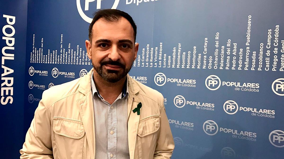 El portavoz adjunto del PP en la Diputación de Córdoba, Félix Romero.