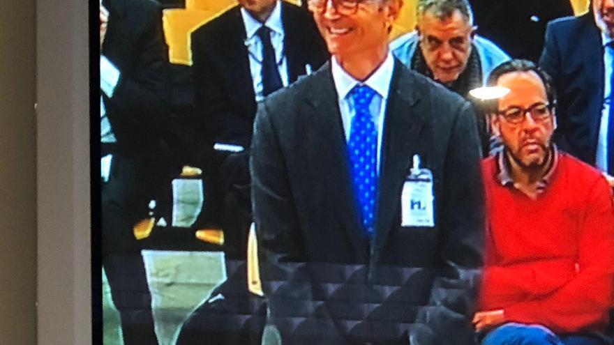 El empresario Rafael Martínez Berna, en su declaración ante el juez de Gürtel.