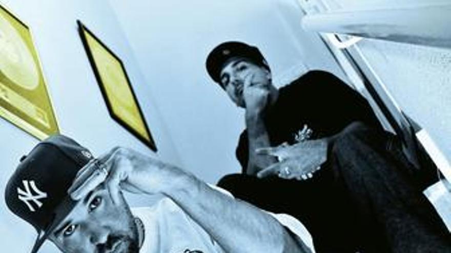 Zatu y Acción Sánchez, del grupo de rap SFDK