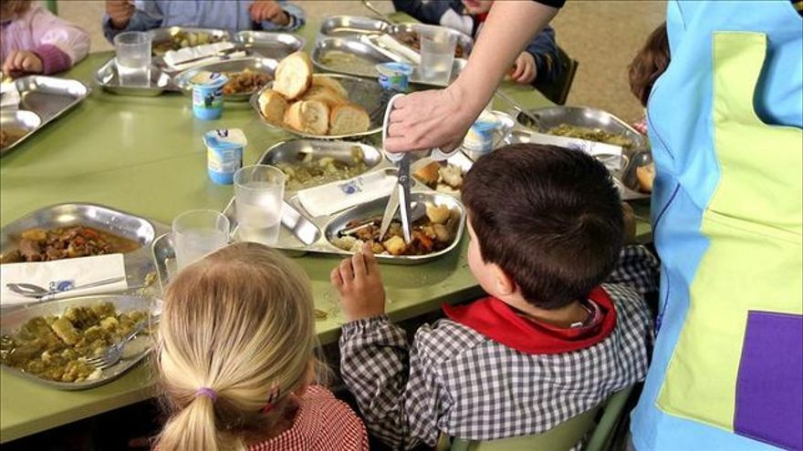 No se abrirá ningún comedor escolar en Aragón en verano