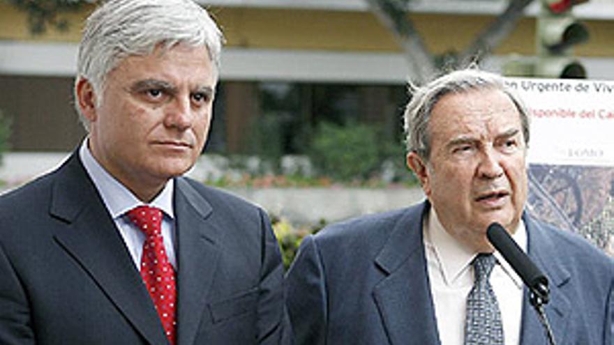 José Miguel Pérez y Jerónimo Saavedra.