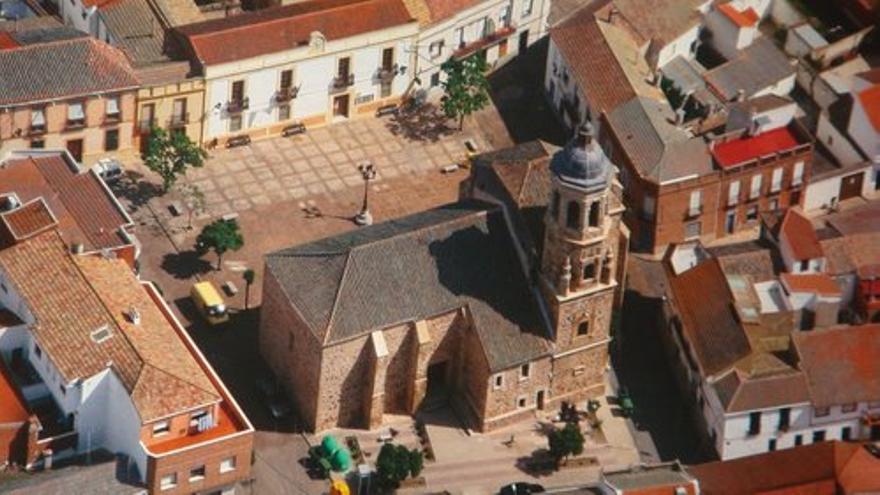 Iglesia de Alcolea de Calatrava (Ciudad Real). / Foto: Ayuntamiento de Alcolea