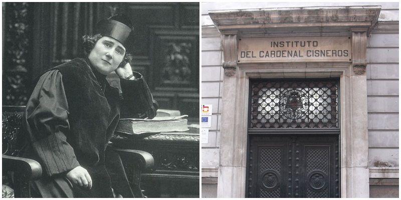 La meteórica carrera estudiantil de una humilde política española 100 años atrás
