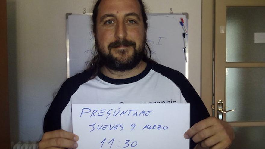 Joaquín Hortal anuncia su participación en el Pregúntame