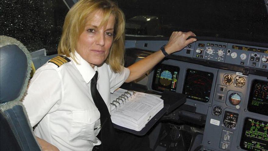 Marta Pérez Aranda, primera mujer comandante de Iberia de largo radio