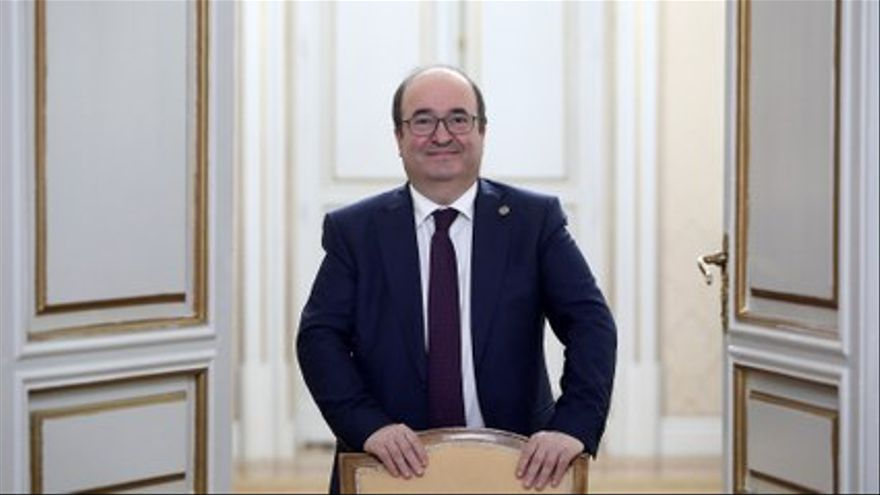 VIDEO |  Interview with Miquel Iceta, Minister of Territorial Policy and Public Function