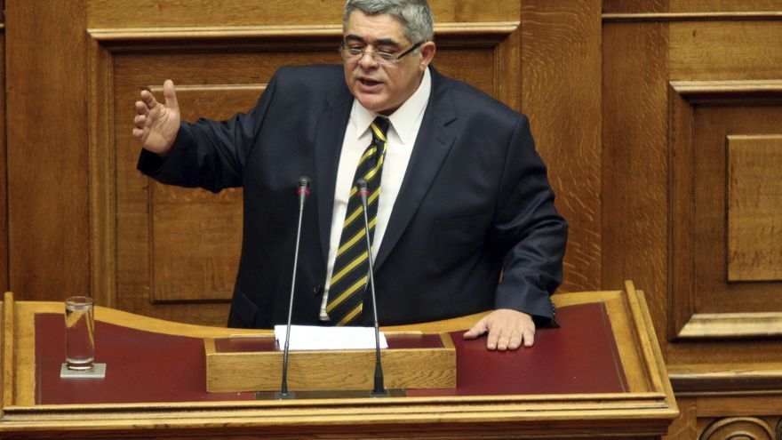 El líder del partido neonazi Amanecer Dorado, Nikos Mihaloliakos / EFE
