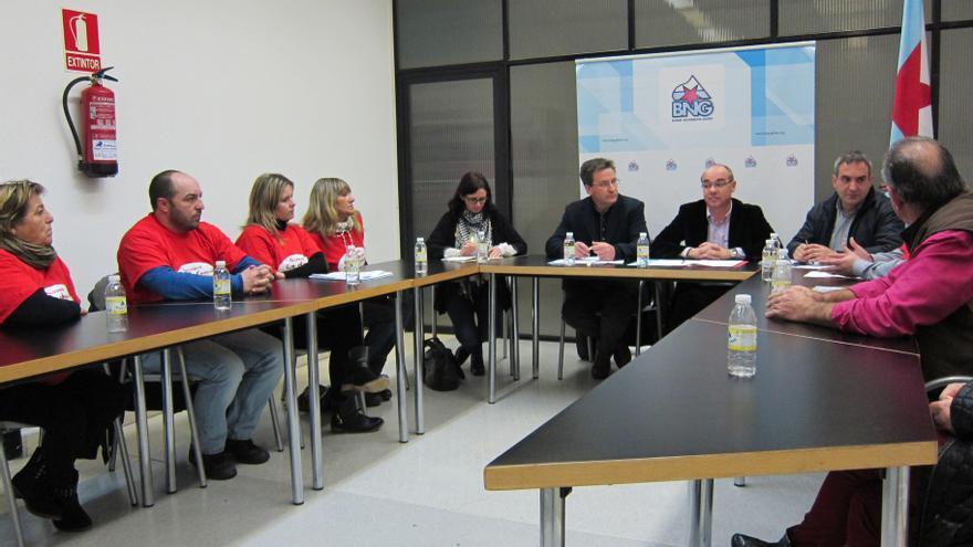 """El BNG llevará al Parlamento gallego y al Congreso """"una batería de iniciativas"""" para que se eliminen las cláusulas suelo"""