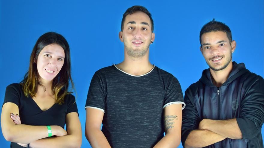 Miembros de la Coordinadora Insular de Jóvenes de Nueva Canarias.