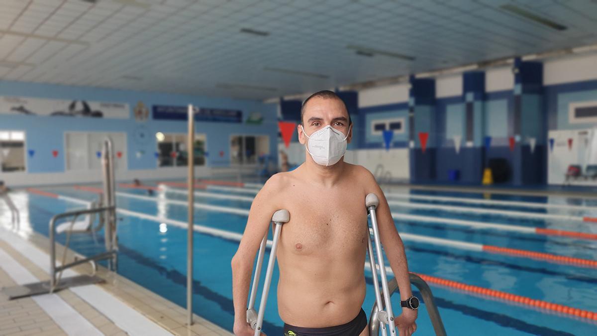Miguel Ángel Martínez Tajuelo, nadador del Fidias
