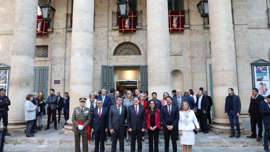Alicante ha acogido el acto conmemorativo de la Constitución en la Comunitat Valenciana