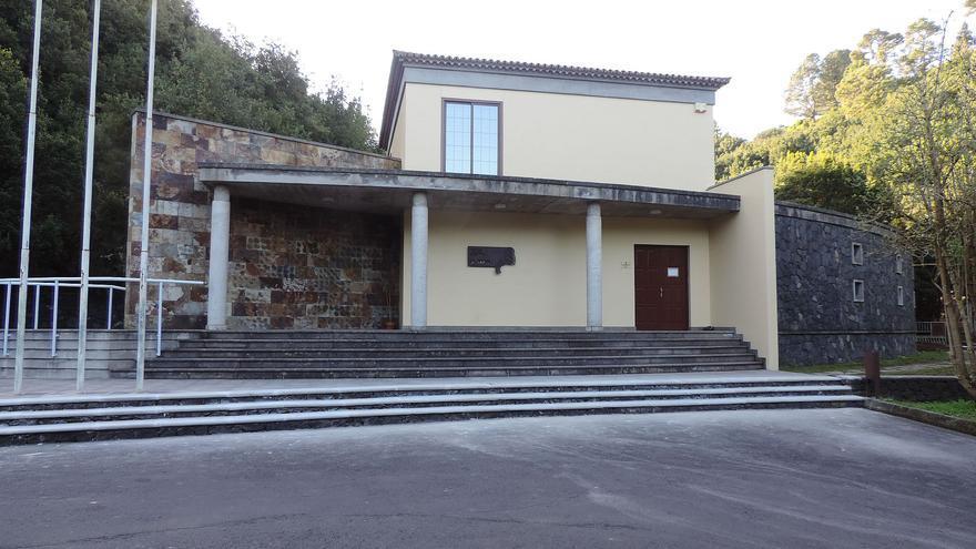 En la imagen, Centro Cultural de La Zarza y La Zarcita.