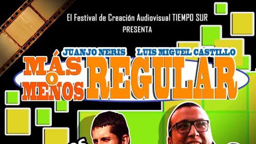 Cartel del homenaje de Tiempo a Sur a Luismi Castillo y Juanjo Neris.