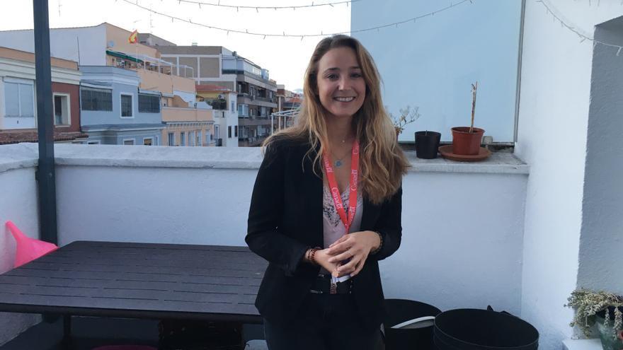 Teresa Gundín, una de las inquilinas de Urban Campus