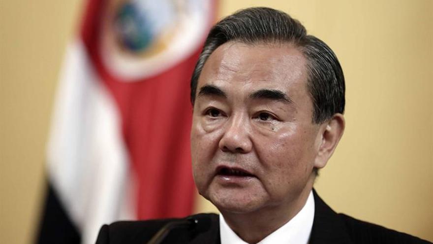 El canciller chino llega a Panamá en su primera visita oficial