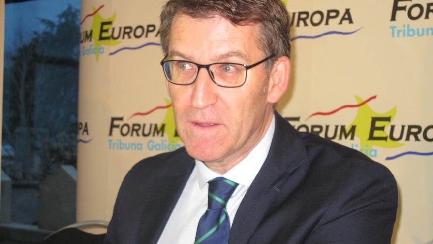 """Feijóo cree que """"España no se merece al Pedro Sánchez maleducado"""" del debate sino a un """"presidente sólido, seguro"""""""