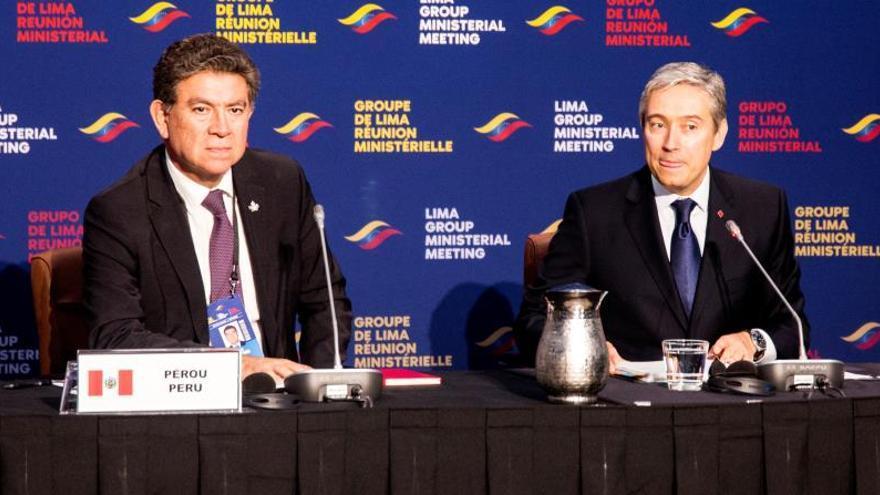 El Grupo de Lima busca en Ottawa apoyo para nuevas elecciones en Venezuela