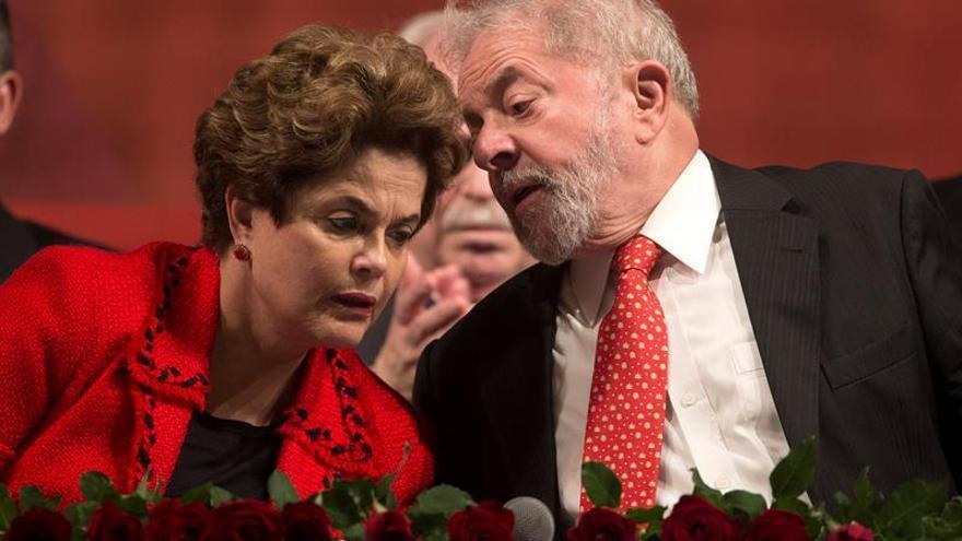 Lula Da Silva y Dilma Rousseff.