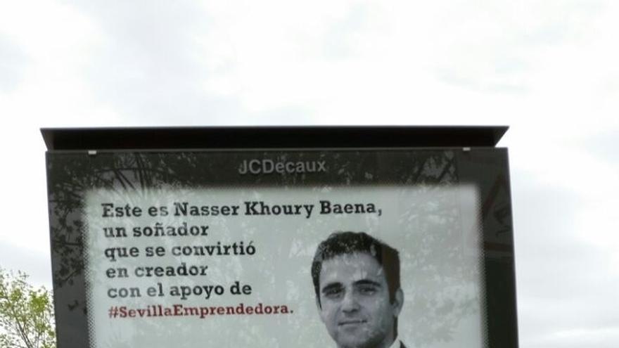 "La JEZ ordena retirar ""inmediatamente"" la campaña municipal 'Sevilla Emprendedora' por vulnerar la Loreg"