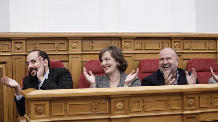 Parlamentarios del PSOE FOTO: Cortes Castilla-La Mancha