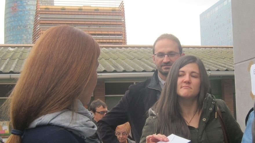 """Herrera (ICV) opta por el 'sí-no' para abrir una """"negociación"""" que cambie el estatus de Cataluña"""