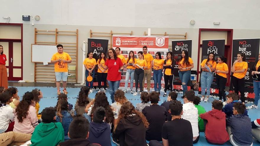 Actividad de los mediadores de Guía de Isora en el municipio de Buenavista del Norte