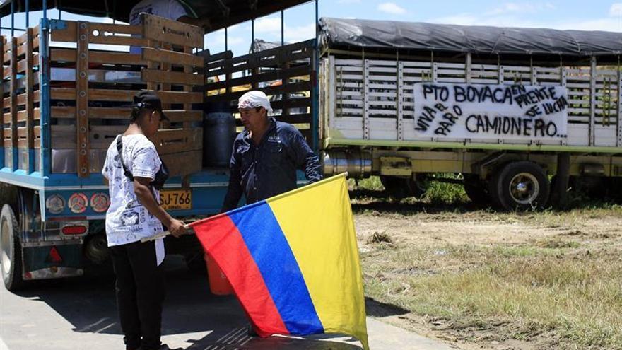 Concluye un paro camionero en Colombia tras 45 días de protestas