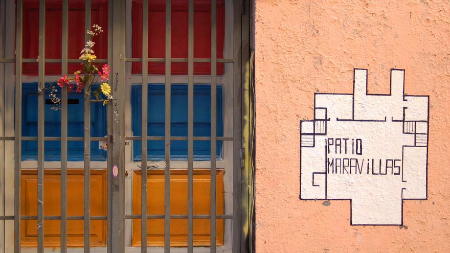 La puerta del primer Patio en la calle Acuerdo.