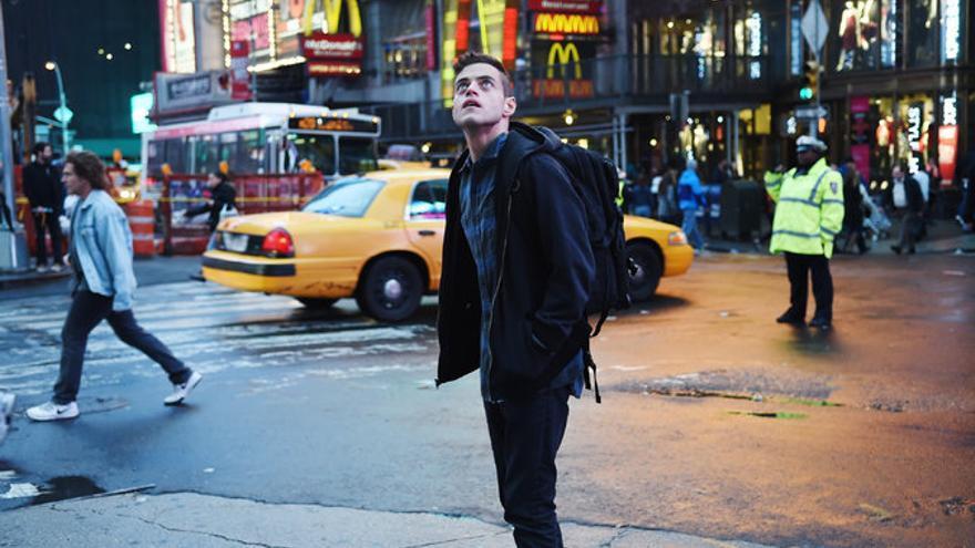 El protagonista de 'Mr. Robot', Elliot Anderson (Rami Malek)