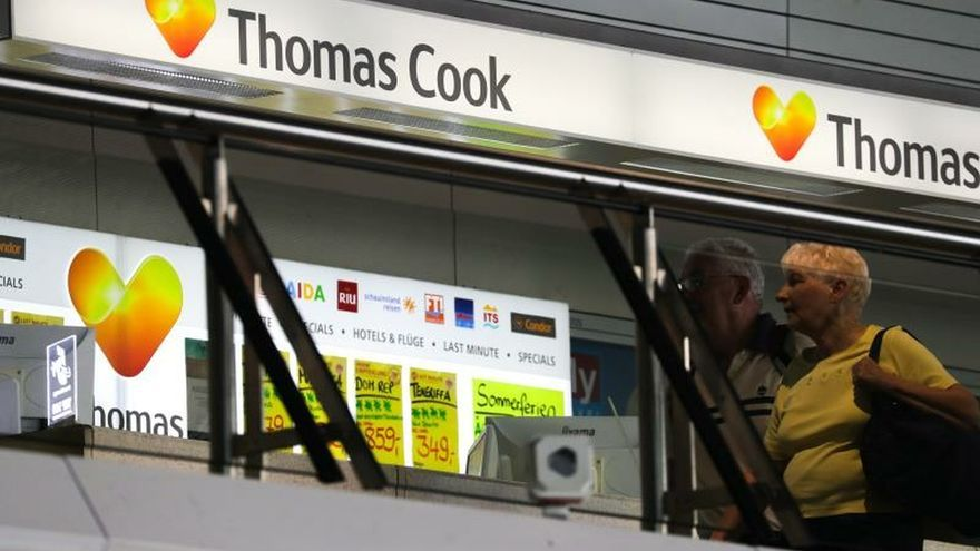 El colapso de Thomas Cook lleva a la suspensión de pagos a 26 de sus filiales