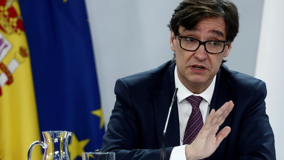 El Ministro de Sanidad, Salvador Illa. EFE/Mariscal/Archivo