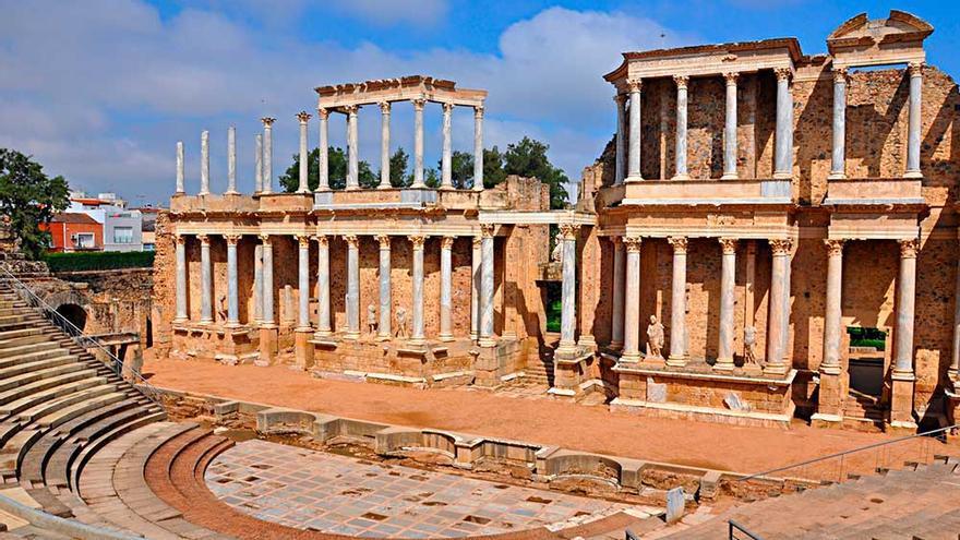 Teatro romano de Mérida, Extremadura