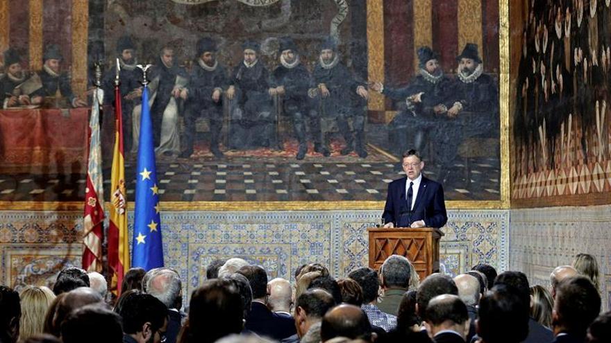 Puig llama a que el problema valenciano sea parte de la solución de España