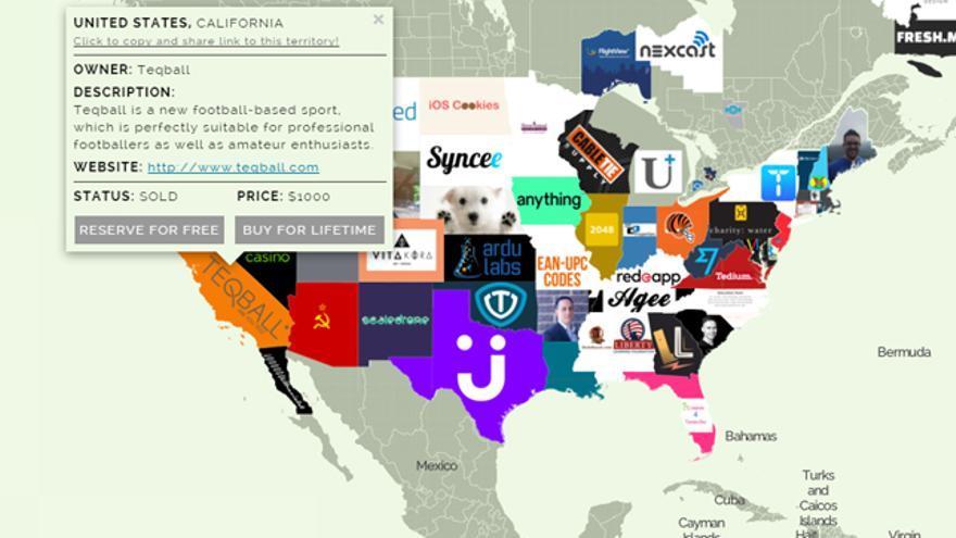 Estados Unidos está prácticamente conquistado por compradores u ocupantes temporales