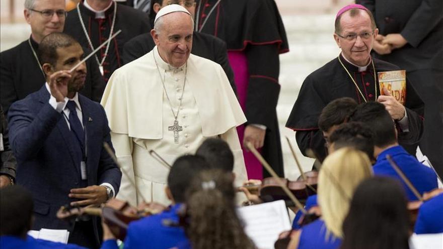El Papa pide que cesen las tensiones en Jerusalén para que reine la paz