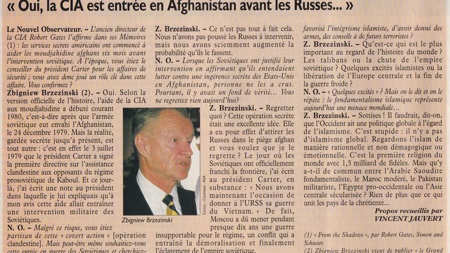 Entrevista Brzezinski
