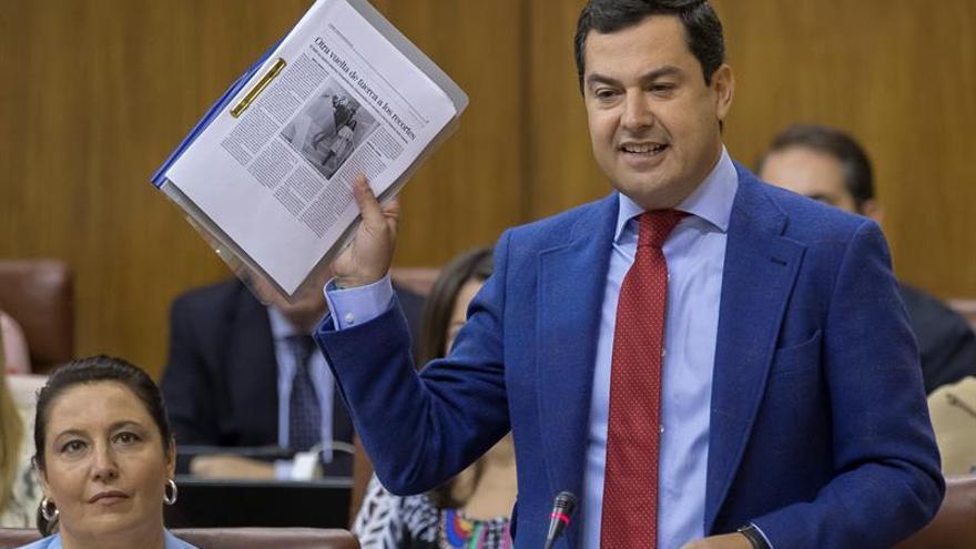 """El PP critica la """"gira televisiva"""" de Susana Díaz """"olvidando"""" a los andaluces"""