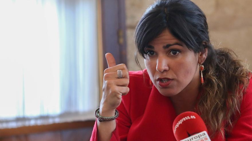 """Teresa Rodríguez ve en Cs """"estoicos servilistas"""" de la Junta para """"dar estabilidad a la desigualdad y la precariedad"""""""