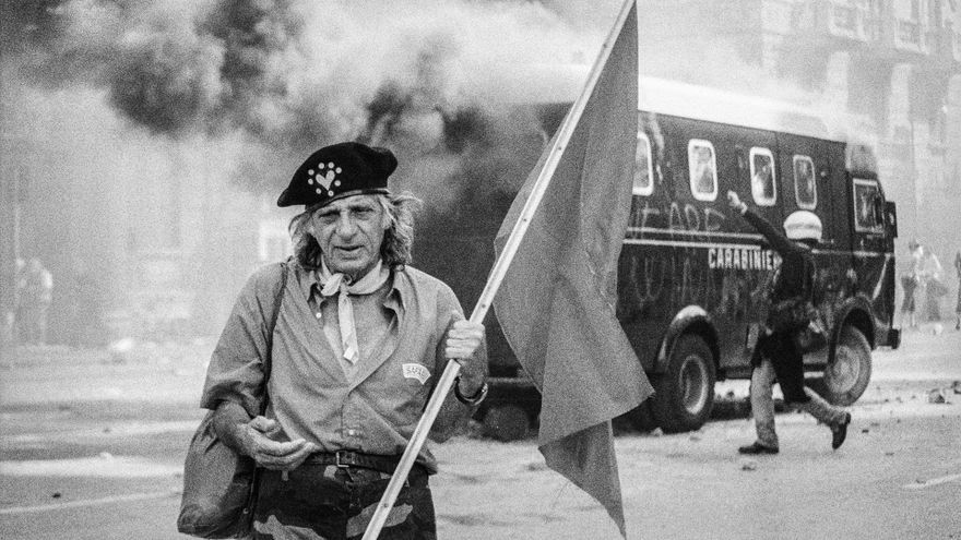 The protest in Genoa against the G8 of 2001, in pictures