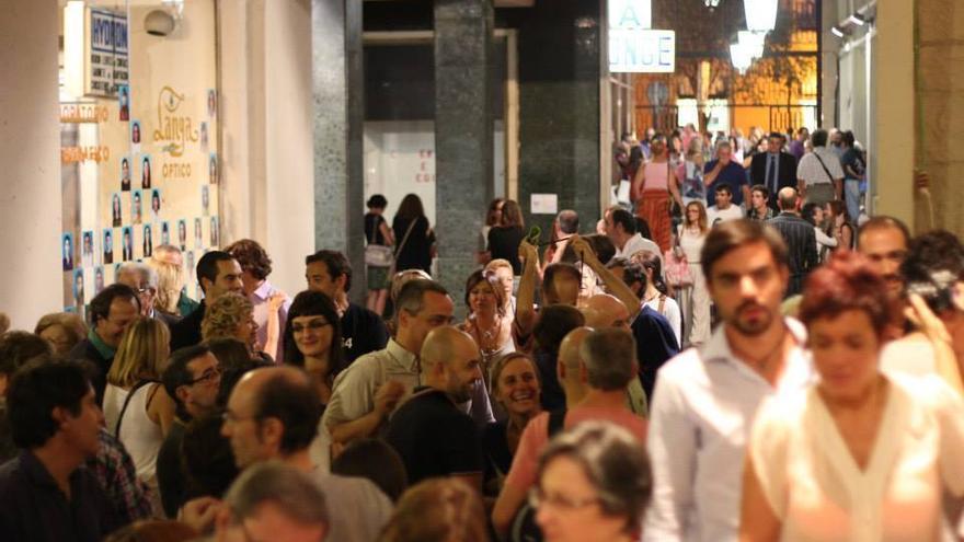 Imagen del pasaje durante la anterior exposición | Foto: José Jurado