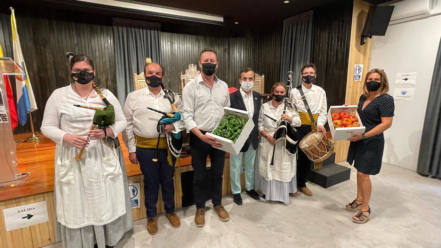 Presentación de la primera feria de la huerta de Ampuero y producto gastronómico de Cantabria