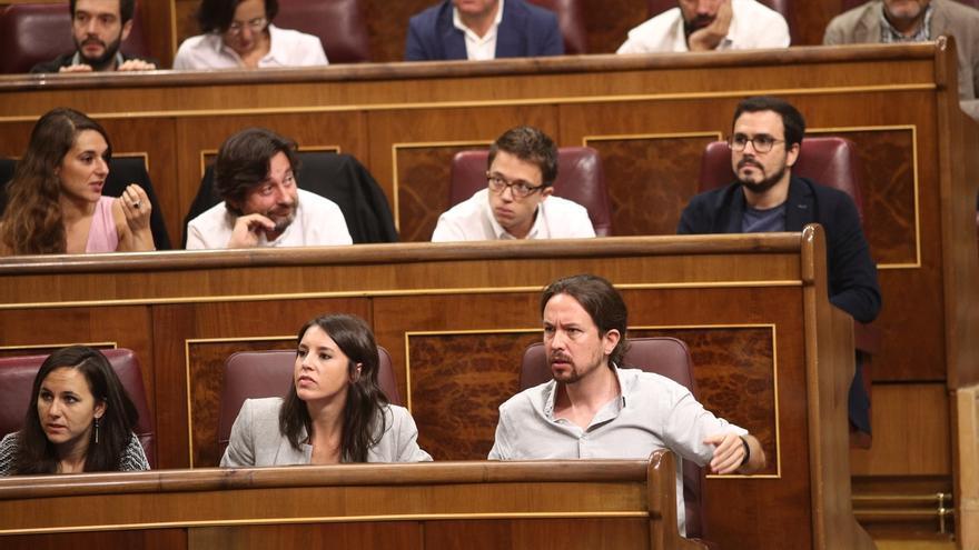 """Podemos se moviliza en las redes y promueve la consigna 'No en mi nombre' contra la """"represión"""" del Gobierno"""