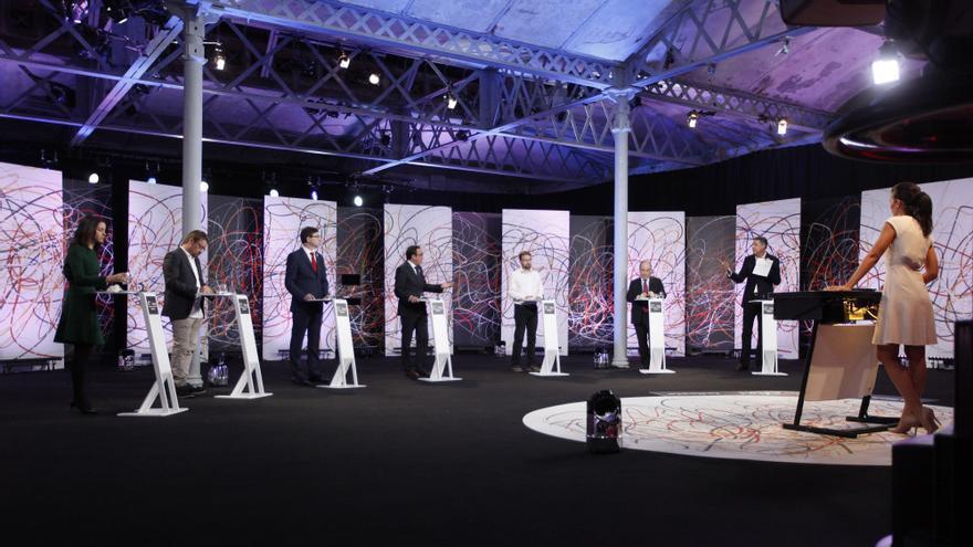 17D. El Debat, en laSexta moderado por Ana Pastor