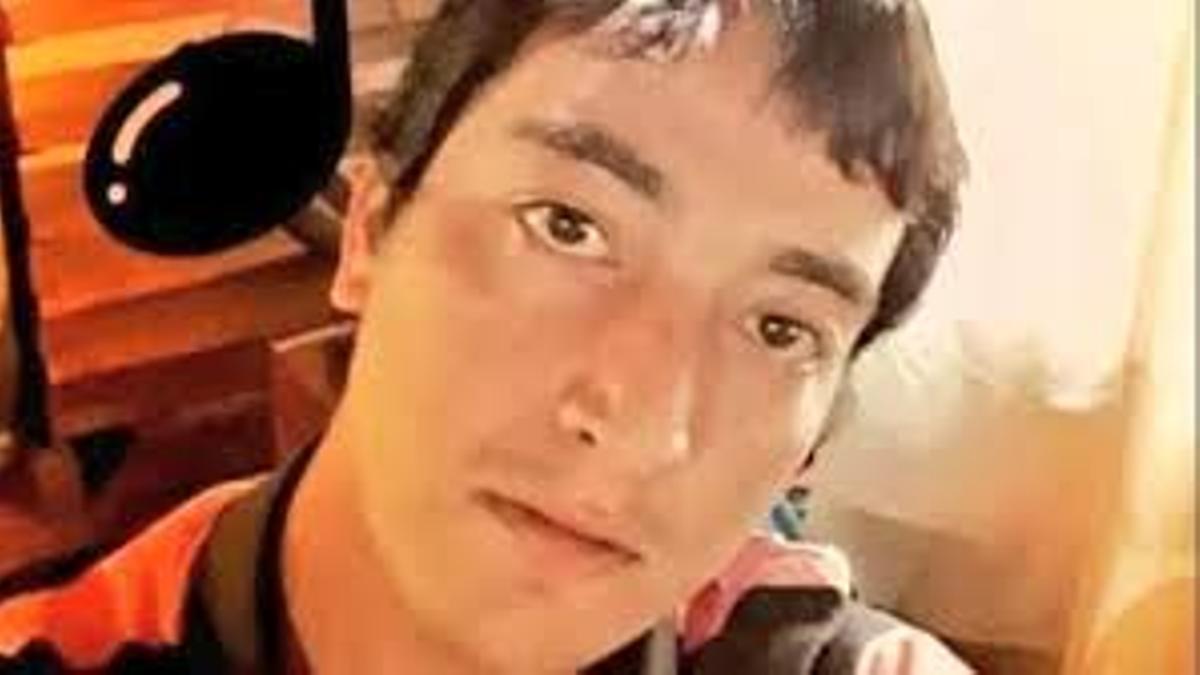 El femicida de Guadalupe Curual, Bautista Quintriqueo. La mató en pleno centro de Villa La Angostura