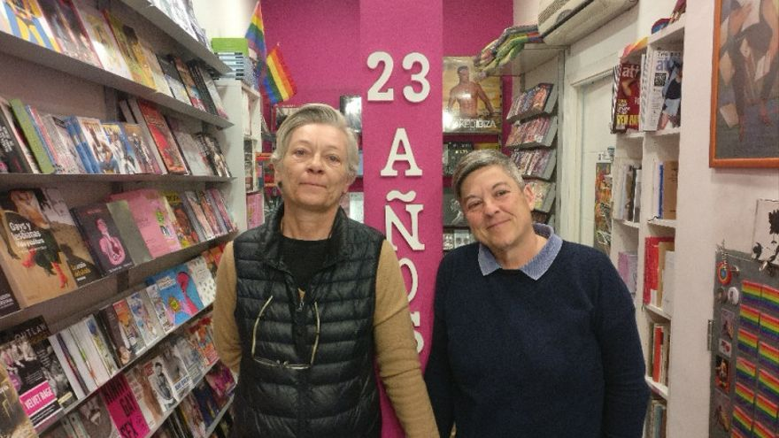 Berkana, la librería referente en LGTB abre una campaña para evitar su cierre / FOTO: Berkana