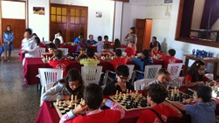 Torneo de ajedrez en la sociedad Velia de La Laguna.