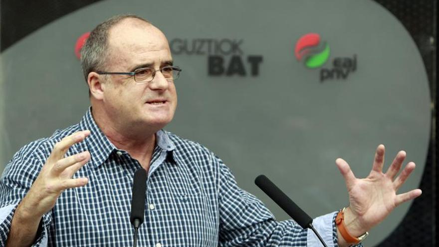 Egibar (PNV) dice que el Estado quiere retrasar en el tiempo la desaparición de ETA