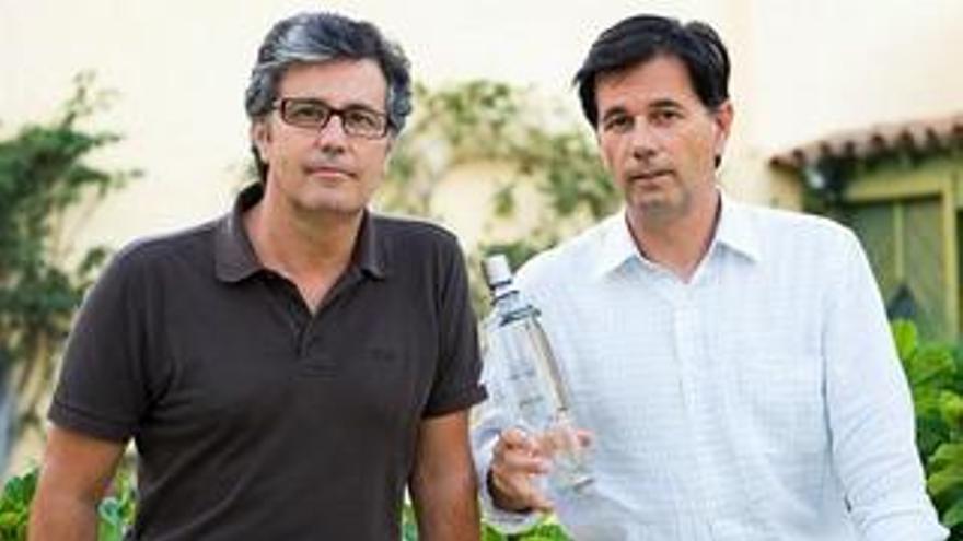 Esteban y Fernando Banús, propietarios de Blat. (BLATVODKA.COM)