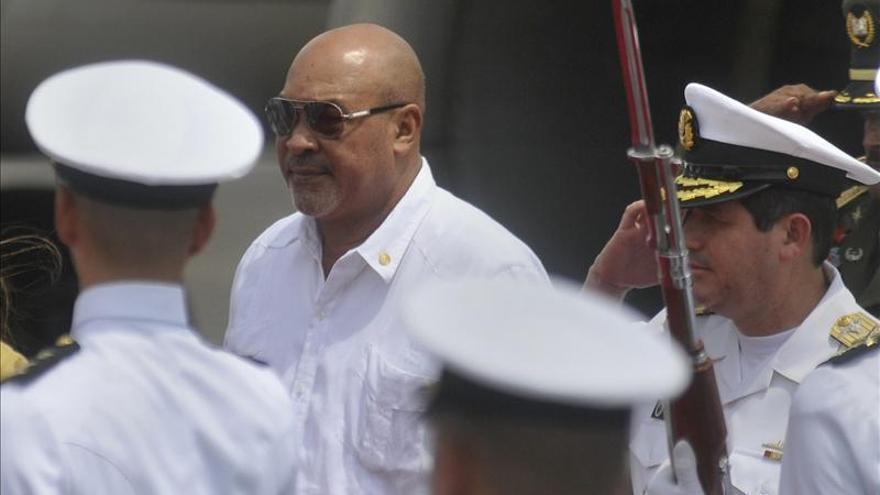 Acusan al hijo del presidente de Surinam de apoyar a un grupo terrorista